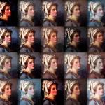 """Digital collage of J. L. David"