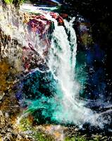 Waterfall Poster Art