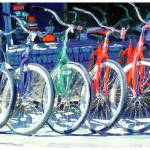 """Bicycles for embelishment"" by BeaconArtWorksCorporation"
