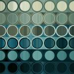 """Circles and Squares 40. Modern Abstract Fine Art"" by MarkLawrence"