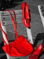 Red Purse, Red Shoes