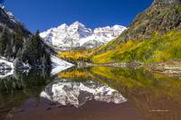 _MG_3073.Maroon Bells reflection1