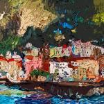 """""""Amalfi Coast Modern Decor by Ginette"""" by GinetteCallaway"""