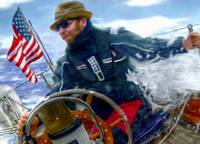 man at helm 3 flag