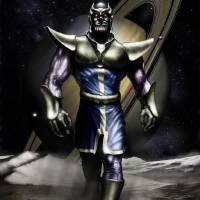 Thanos of Titan Art Prints & Posters by Thomas Gehrke