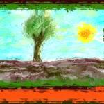 """Lone tree 2"" by yagbla"