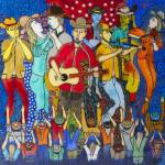 """""""Country night somewhere in America (My dreams of A"""" by gheider"""