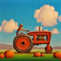 Autumn Art Prints & Posters by Robert LaDuke