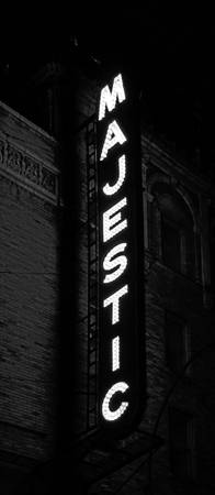 Majestic Theatre, New York City (B&W)