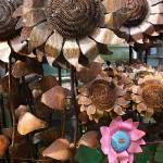 """salvage Yard Flowers"" by feophotos"