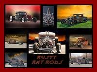 Rusty Rat Rod Collection I