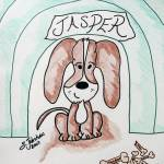 """Jasper In The Doghouse"" by sylviajahshan"
