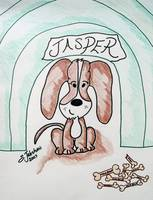 Jasper In The Doghouse
