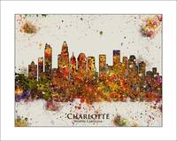 Charlotte NC color set 6
