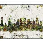 """Nashville Tn"" by WaterColorMaps"