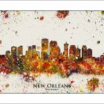 """new orleans"" by WaterColorMaps"
