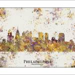 """philiadelphia"" by WaterColorMaps"