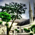 """Urban Singapore- St. Andrews Catheral"" by sghomedeco"