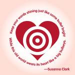 """Susanna Clark Quote Lyric Poster"" by jvorzimmer"
