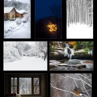 Winter Glow at Inn at Cedar Falls | Photography by Art Prints & Posters by Jim Crotty