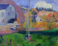 Brittany Landscape: the David Mill, 1894