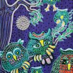 """Owl Family"" by ArtPrints"