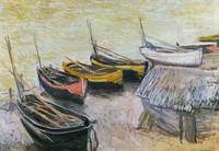 Boats on the Beach, 1883