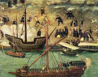 The Port of Seville, c.1590