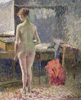 Female Nude seen from the Back, 1895