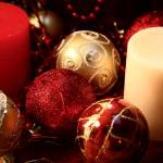 """""""Christmas Baubles"""" by JanaSinor"""