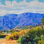 Las Virgenes Canyon Malibu California by RD Riccoboni