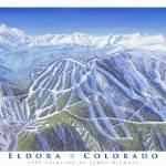 """Eldora Ski Resort, Colorado"" by jamesniehuesmaps"