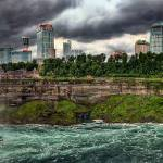 """Niagara River Pano HDR"" by ayseselen"