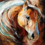 """Magic Moments Equine [SIGNED]"" by MBaldwinFineArt2006"
