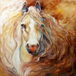 """Palomino Wind [SIGNED]"" by MBaldwinFineArt2006"