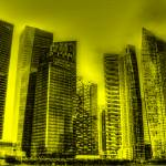 """Yellow Tone Series - Cityscape Singapore 2013"" by sghomedeco"