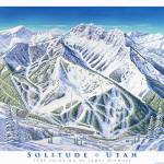 """Solitude Utah"" by jamesniehuesmaps"