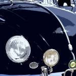 """VW Beetle Black Front"" by studiojanney"