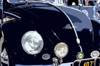 VW Beetle Black Front