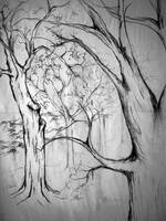 Charcoal Trees - Kelly