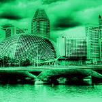 """Esplanade Theater and Bridge, Singapore"" by sghomedeco"