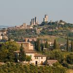 """Hill town of of San Gimignano, Tuscany, Italy"" by petrsvarc"