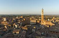 Old Town of Siena with Piazza del Campo