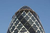 30 St Mary Axe (Swiss Re Building or Gherkin) , Ci