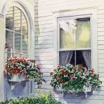 """NORMAN ROCKWELLS WINDOW BOXES"" by DavidLloydGlover"