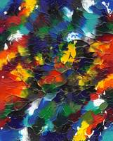 Multicolor Mixup Abstract