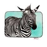 """""""Zebra"""" by ArtbyRobertMahosky"""