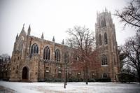 Sewanee Snow: All Saints' Chapel