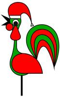 Pixy Rooster wish you a Happy Chrismas