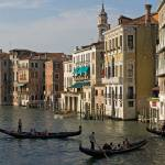 """Gondolas and Palaces, Grand Canal, Venice, Italy"" by petrsvarc"